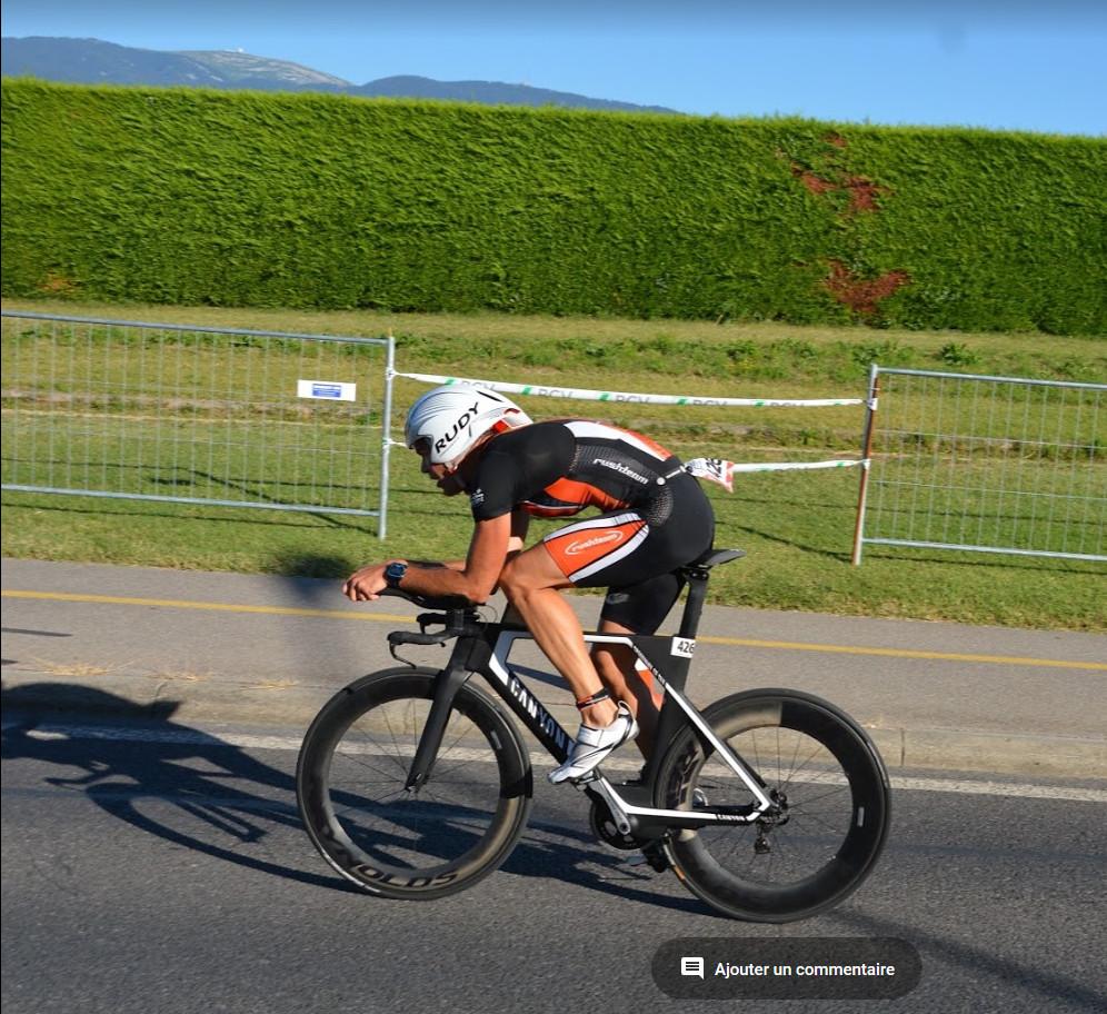 Canyon Speedmax - Meilleur temps vélo et 1ère place - Nyon 2016