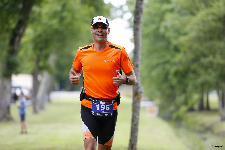 A ce moment de la course, le sourire est de mise!